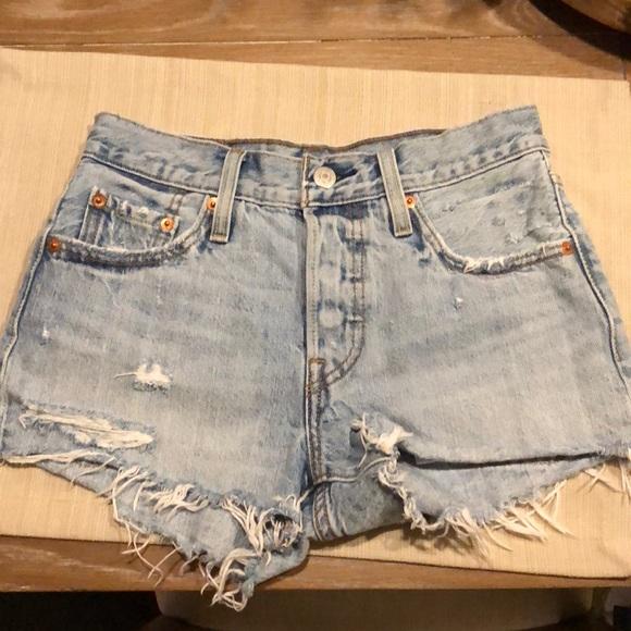 4c617491ea Levi's Shorts | Levis 501 High Rise | Poshmark